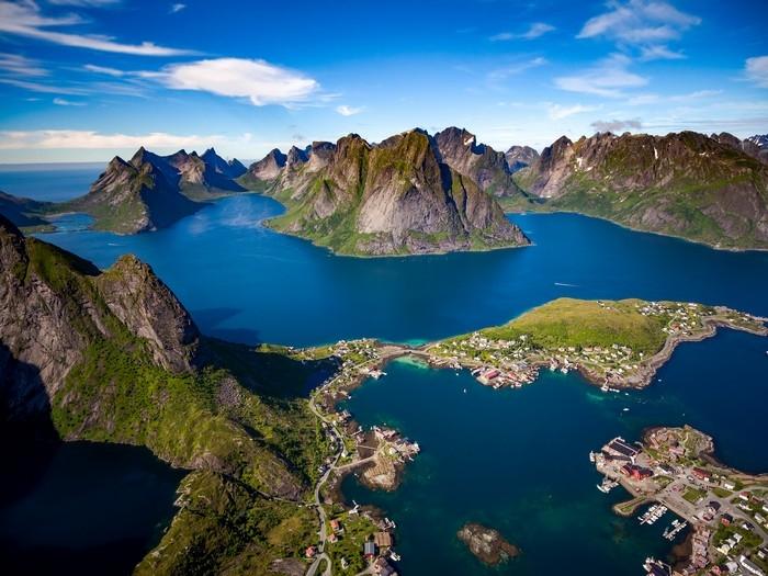 Fjords Et Baleines De Norv 232 Ge